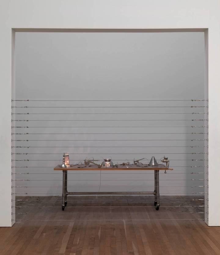 Home 1999 by Mona Hatoum born 1952